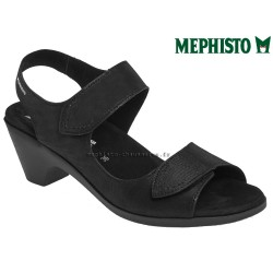 mephisto-chaussures.fr livre à Gravelines Mephisto Cecila Noir nubuck sandale