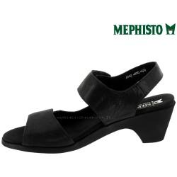 Mephisto Cecila Noir nubuck sandale