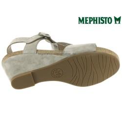 Mephisto Jenny Gris clair velours sandale