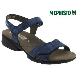 Sandale femme Méphisto Chez www.mephisto-chaussures.fr Mephisto Francesca Marine cuir sandale