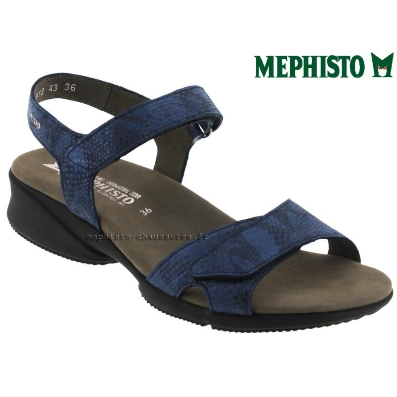 Mephisto Francesca Marine cuir sandale