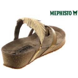 Mephisto Immy Doré cuir tong
