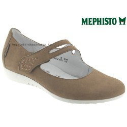mephisto-chaussures.fr livre à Andernos-les-Bains Mephisto Dora Beige nubuck mary-jane