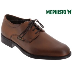 Mode mephisto Mephisto Cooper Marron cuir lacets_derbies