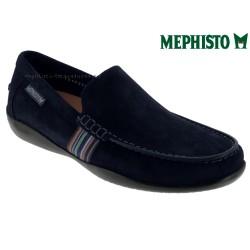 Mephisto Chaussure Mephisto Idris Marine daim mocassin