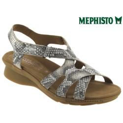 mephisto-chaussures.fr livre à Nîmes Mephisto PARCELA Beige cuir sandale