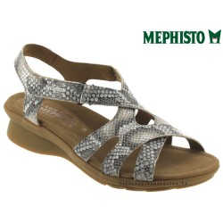 SANDALE FEMME MEPHISTO Chez www.mephisto-chaussures.fr Mephisto PARCELA Beige cuir sandale