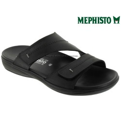 Méphisto tong homme Chez www.mephisto-chaussures.fr Mephisto STAN Noir cuir mule