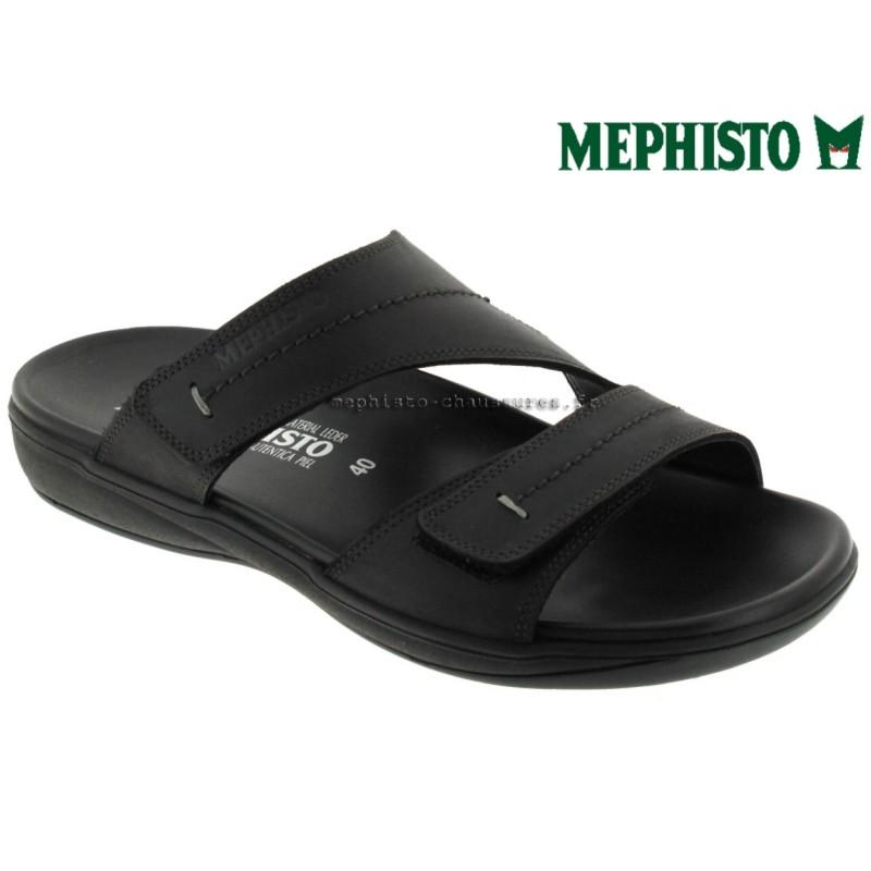 Mephisto STAN Noir cuir mule