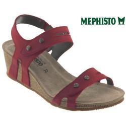mephisto-chaussures.fr livre à Changé Mephisto Mina Rouge cuir sandale