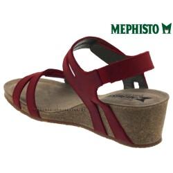 Mephisto Mina Rouge cuir sandale
