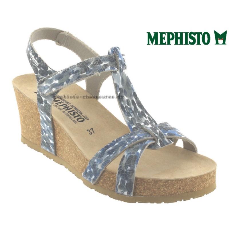 Mephisto Liviane Jeans cuir sandale