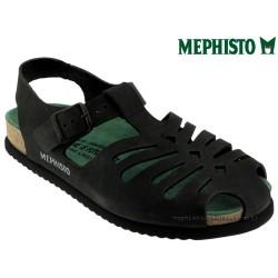 mephisto-chaussures.fr livre à Paris Mephisto Oak Noir nubuck sandale