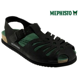 mephisto-chaussures.fr livre à Ploufragan Mephisto Oak Noir nubuck sandale