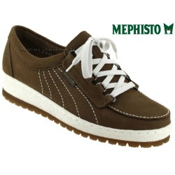 mephisto-chaussures.fr livre à Cahors Mephisto Lady Marron nubuck lacets
