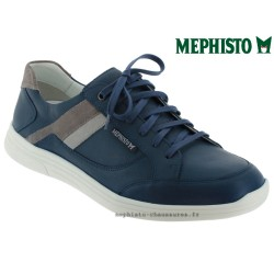 Mephisto Chaussure Mephisto Frank Marine cuir lacets