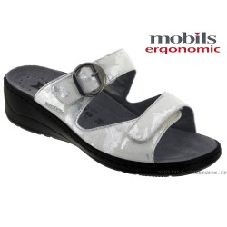 Chaussures femme Mephisto Chez www.mephisto-chaussures.fr Mobils JULIA Gris clair cuir mule