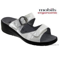femme mephisto Chez www.mephisto-chaussures.fr Mobils JULIA Gris clair cuir mule