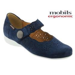 Mephisto Chaussures Mobils FABIENNE Marine nubuck mary-jane