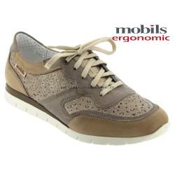 mephisto-chaussures.fr livre à Gaillard Mobils KADIA PERF Camel cuir lacets