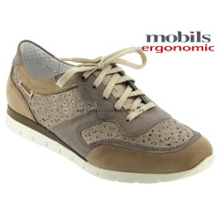 Mode mephisto Mobils KADIA PERF Camel cuir lacets