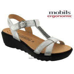 Chaussures femme Mephisto Chez www.mephisto-chaussures.fr Mobils FELIZIA Gris cuir sandale
