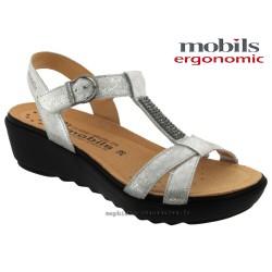 Sandale femme Méphisto Chez www.mephisto-chaussures.fr Mobils FELIZIA Gris cuir sandale