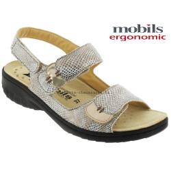 mephisto-chaussures.fr livre à Paris Mobils GETHA Beige cuir sandale