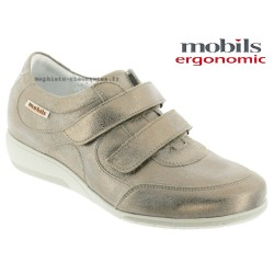Mephisto femme Chez www.mephisto-chaussures.fr Mobils JENNA Taupe cuir mocassin