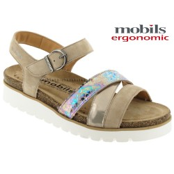 Chaussures femme Mephisto Chez www.mephisto-chaussures.fr Mobils Thina Beige cuir sandale