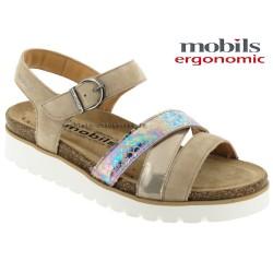 Sandale femme Méphisto Chez www.mephisto-chaussures.fr Mobils Thina Beige cuir sandale