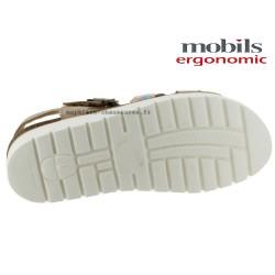 Mobils Thina Beige cuir sandale