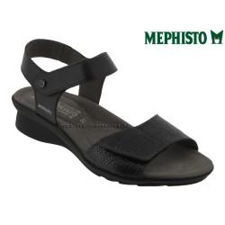 mephisto-chaussures.fr livre à Changé Mephisto Pattie Noir cuir sandale