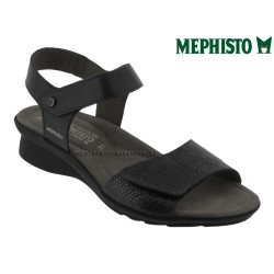 mephisto-chaussures.fr livre à Oissel Mephisto Pattie Noir cuir sandale