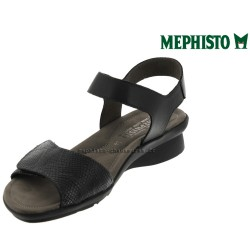 Mephisto Pattie Noir cuir sandale