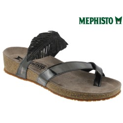 Mule femme Mephisto Mephisto Immy Gris foncé cuir tong