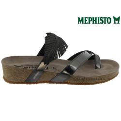 Mephisto Immy Gris foncé cuir tong