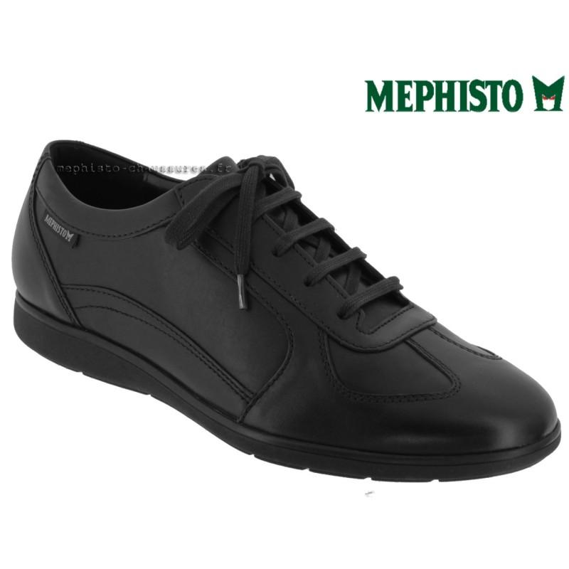 mephisto, leonzio, Noir cuir