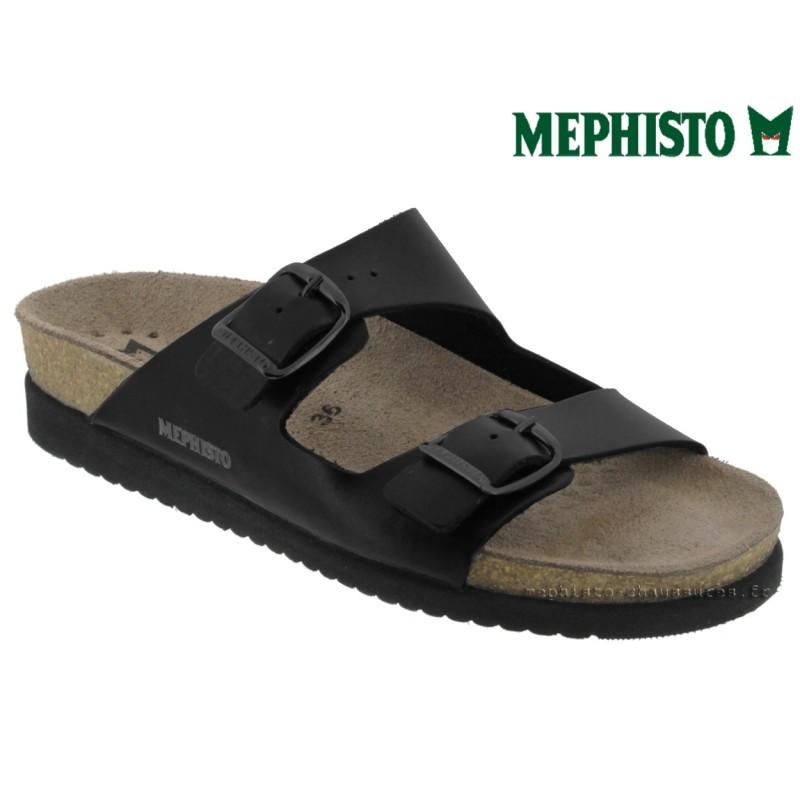 le pecq, HARMONY, Noir cuir chez www.mephisto-chaussures.fr (42442)