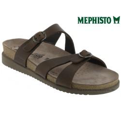 Méphisto tong femme Chez www.mephisto-chaussures.fr Mephisto HANNEL Marron cuir mule
