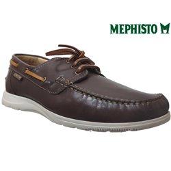 mephisto-chaussures.fr livre à Gaillard Mephisto GIACOMO Marron cuir bateau