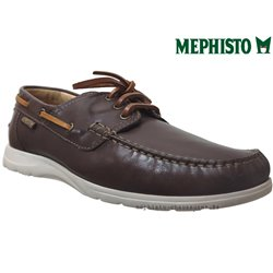 mephisto-chaussures.fr livre à Triel-sur-Seine Mephisto GIACOMO Marron cuir bateau