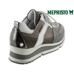 Mephisto Vicky Gris cuir basket-mode