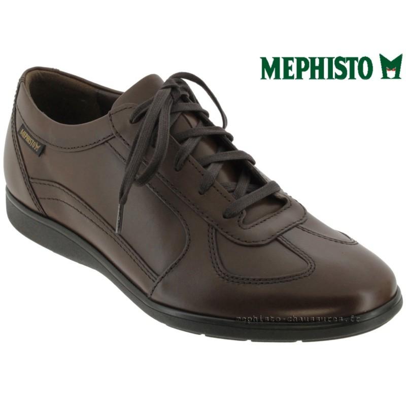 Mephisto Leonzio Marron cuir lacets