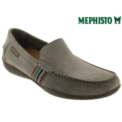 mephisto-chaussures.fr livre à Cahors Mephisto Idris Gris daim mocassin