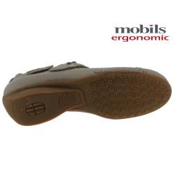 Mobils FLEUR Taupe cuir brillant ballerine