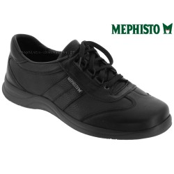 Marque Mephisto Mephisto HIKE Noir cuir lacets