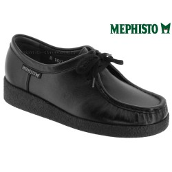 Marque Mephisto Mephisto CHRISTY Noir cuir lacets