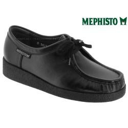 mephisto-chaussures.fr livre à Paris Lyon Marseille Mephisto CHRISTY Noir cuir lacets