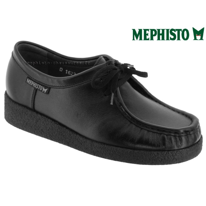 Mephisto CHRISTY Noir cuir lacets 42559
